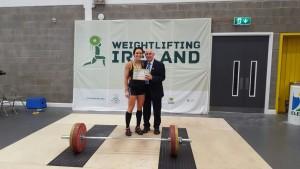 claire mc glynn 69kg class winner